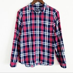 SALE!!  Madewell Classic plaid button down Sm